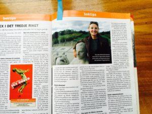 Artikel über Anna Maria Sigmund in einer norwegischen Zeitschrift.